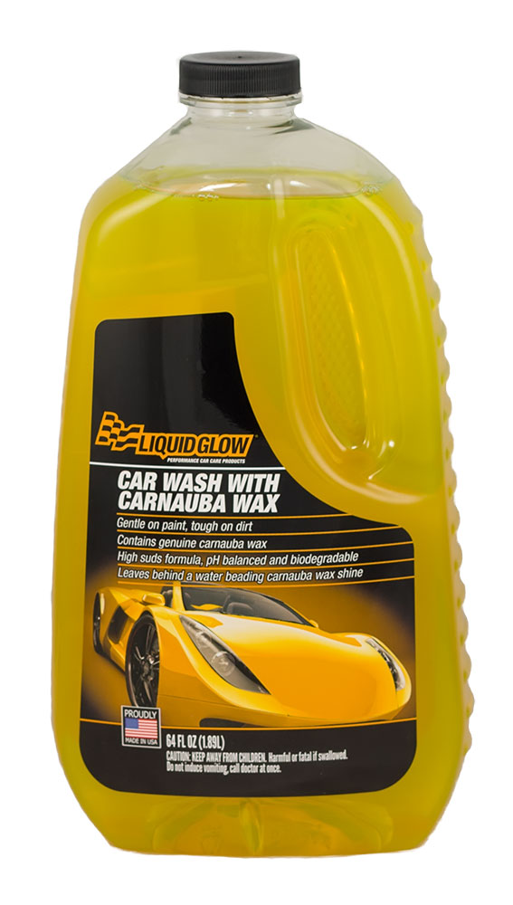 Car Wash with Carnauba Wax Front